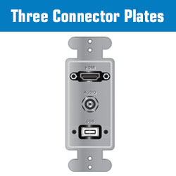 3 Connector Plates