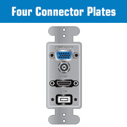 4 Connector Plates