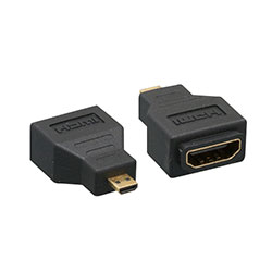 Adapter, HDMI Female to Micro HDMI Male