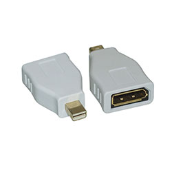 Adapter, Mini DisplayPort to DisplayPort Female