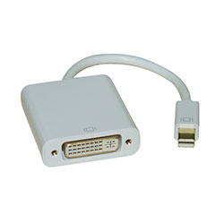 Adapter, Mini DisplayPort to DVI Female