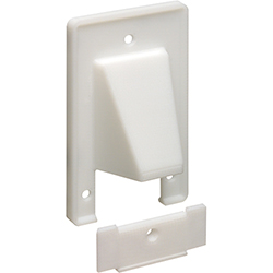 Entrance Plate, Removable Plate, 1-Gang