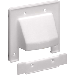 Entrance Plate, Removable Plate, 2-Gang