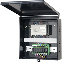 Enclosure Box With Back Plate,12