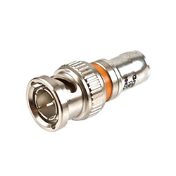 Compression BNC Connector for Solid 25AWG Coax