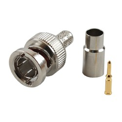 Connector, BNC Male for RG59
