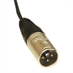 3-Pin Male XLR Cable, Plenum