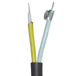 (2) Stranded Coax, 26 AWG