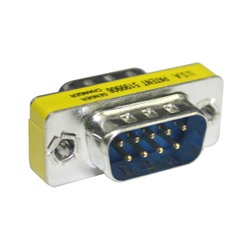 Connector, Db9, M/M, Gender Changer