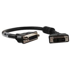 DVI-I Cable with Ferrite, Single Link