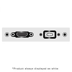 Single Sp AI, HDMI Female, USB AA Pigtail