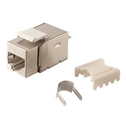 Keystone, Cat 6a, RJ45, Punchdown, Shielded