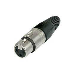Neutrik XLR Cable Connector, 3-Pole, Female