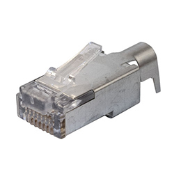 RJ Plug, 10G, Cat6a/7, Shielded