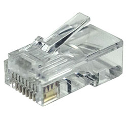 RJ45 Connector, Cat 5E