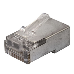 RJ45 Connector, Cat6 Stranded, Shielded