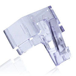 Easy Repair Block for RJ-45 Clips, Clear, 10-Pack