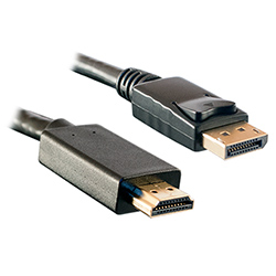 DisplayPort 1.2 to HDMI Cable