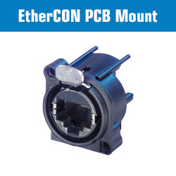 EtherCON PCB Mount