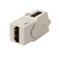 Keystone, HDMI, Right Angle, White